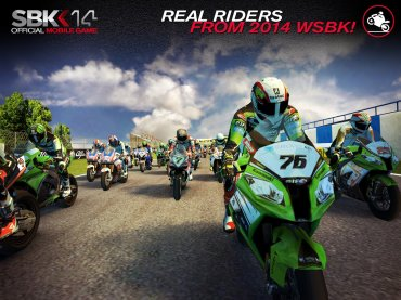 SBK14 Official Mobile Game на андроид