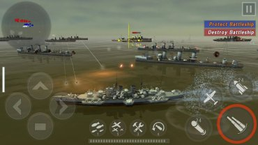 взлом Warship Battle 3D World War II на андроид